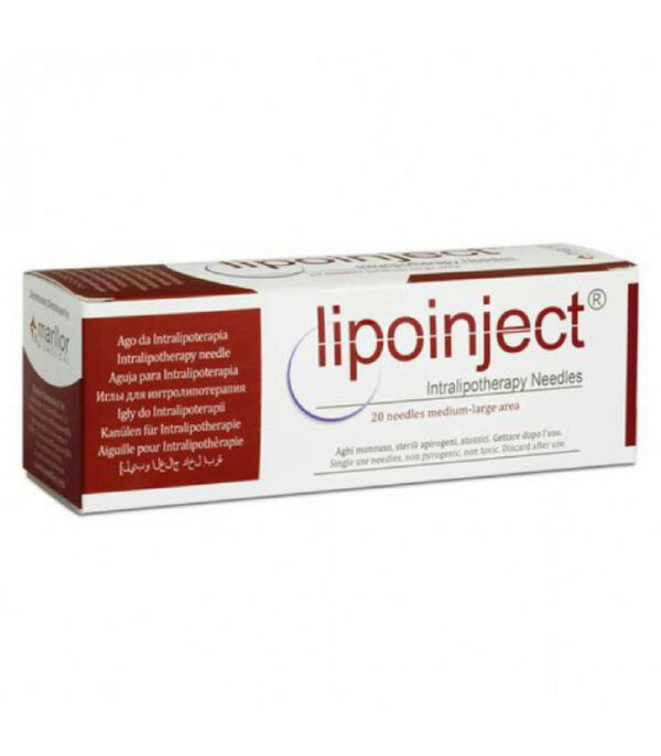 LIPOINJECT Intralipotherapy Needle 24G x 100 mm