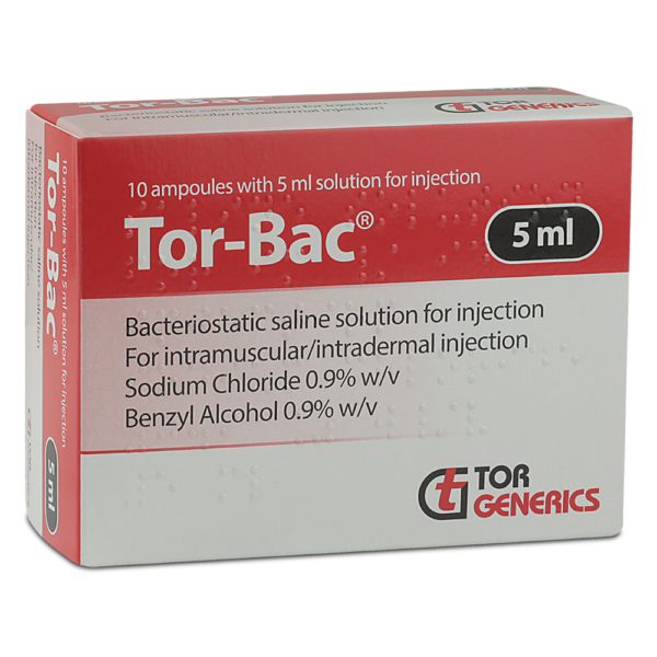 Tor bac 10x5ml Ampoules