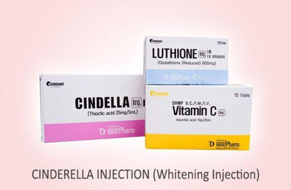 cindella skin whitening iv injection set of 10 sessions